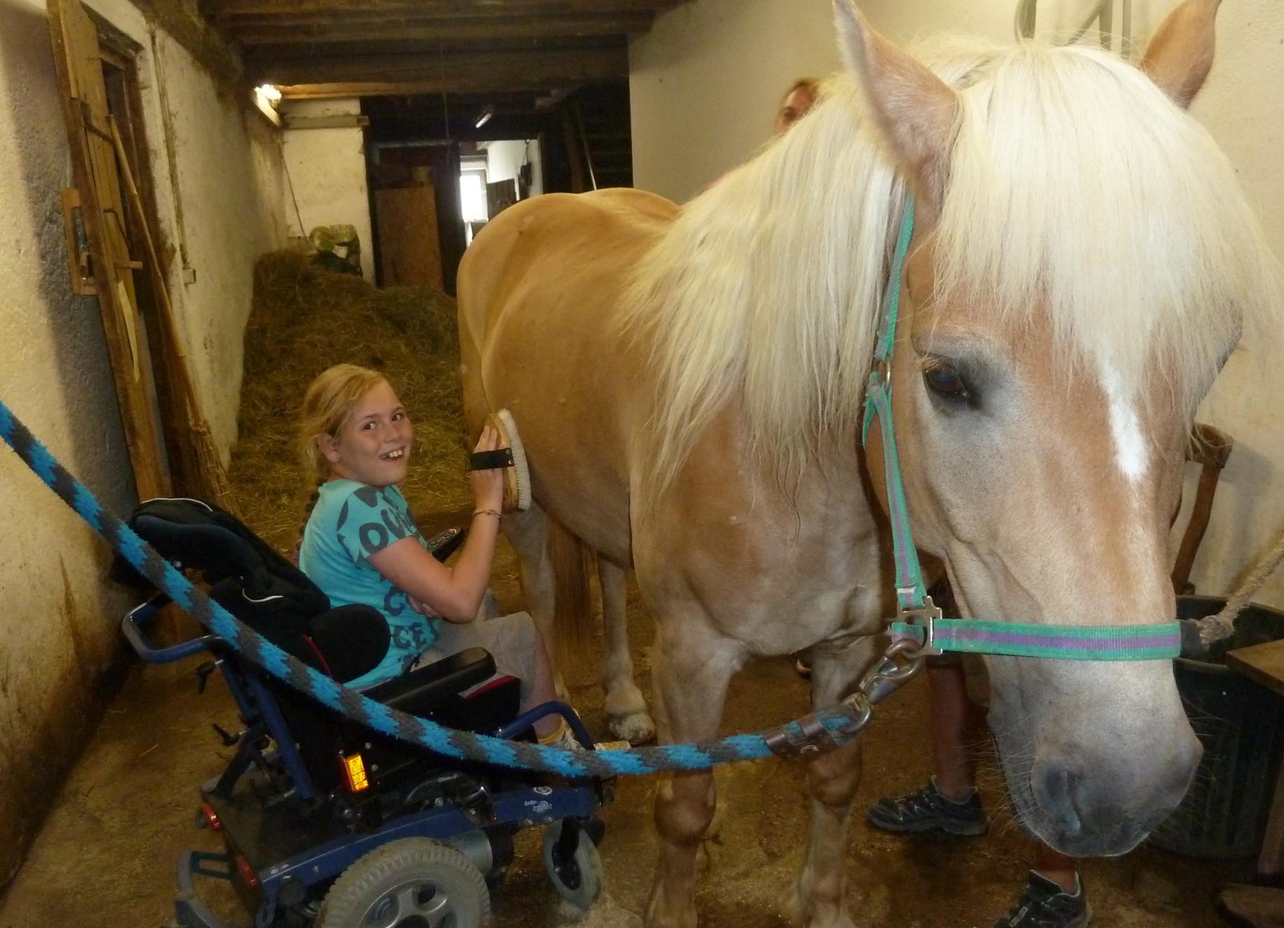 Reiten mit Behinderung