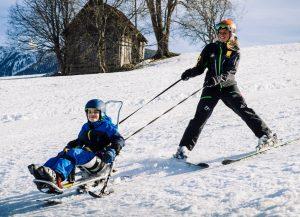 Skifahren im Bi Unique