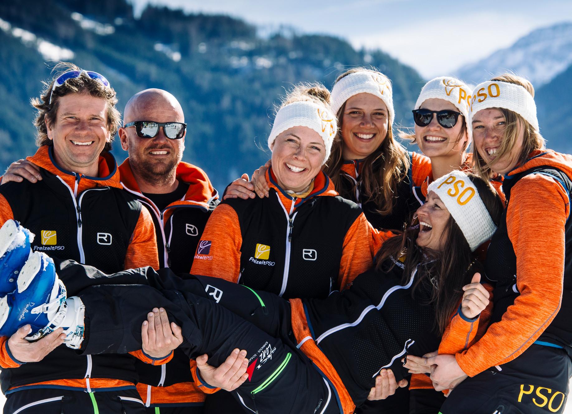 Skilehrer bei Freizeit-PSO