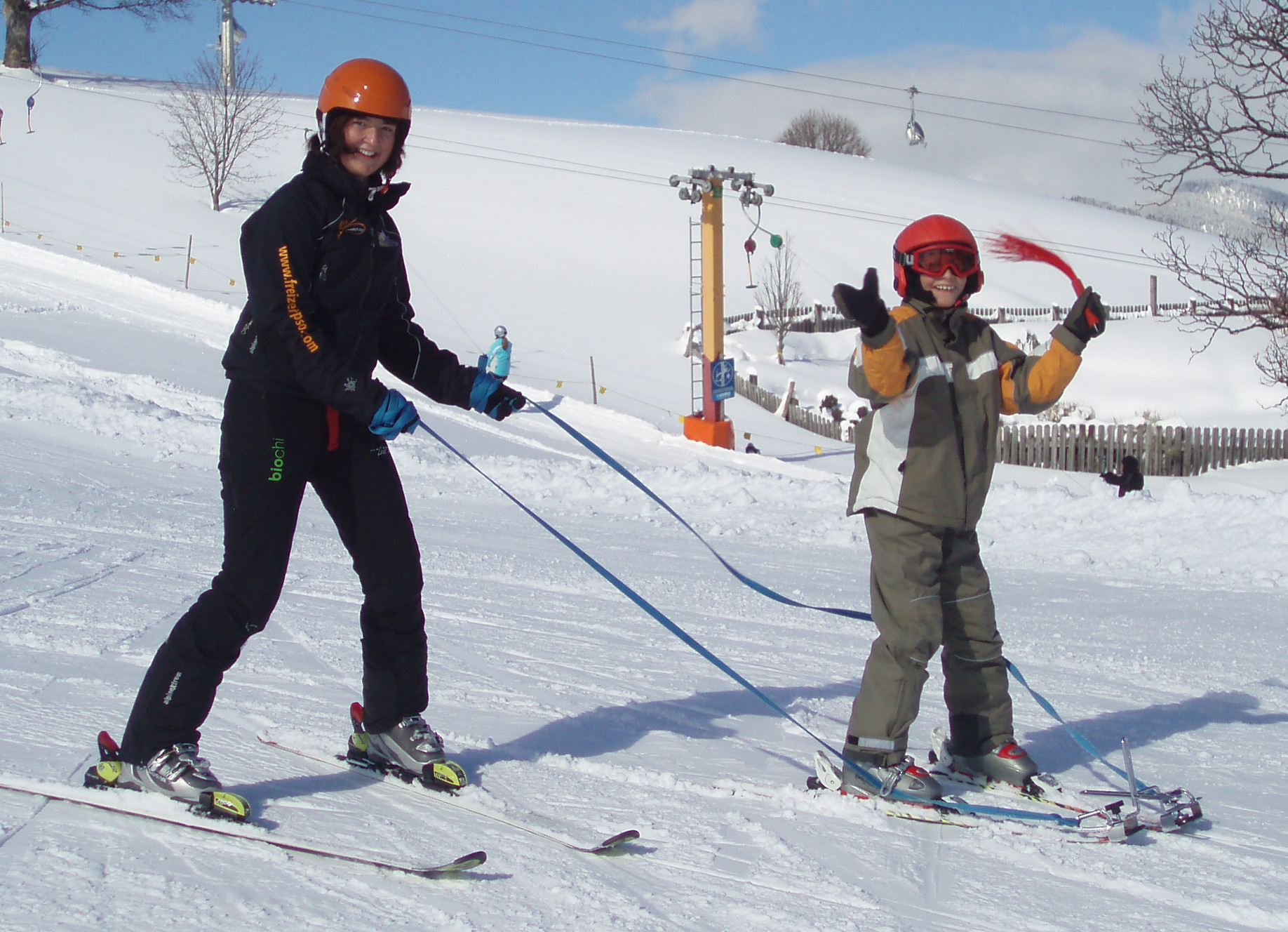 Skiing with learning disabilities