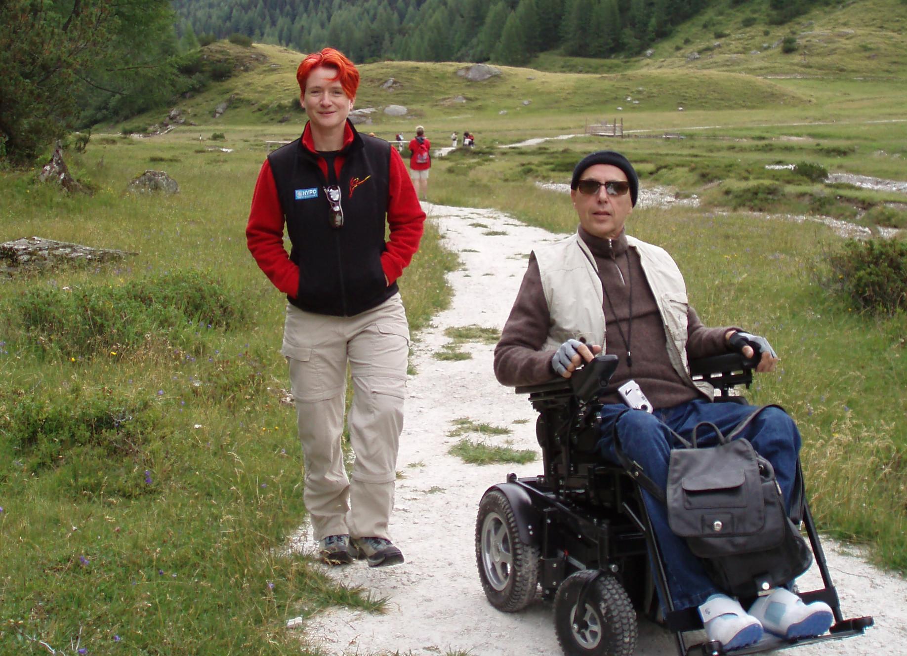 Rollstuhlgerechter Wanderurlaub