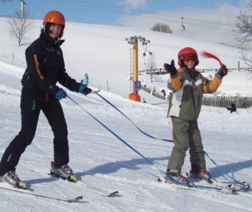 Skischule für Menschen mit Behinderung