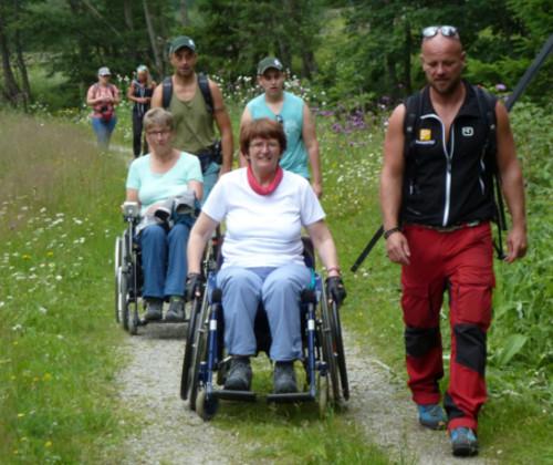 barrierefreier Wanderurlaub für Gemütliche