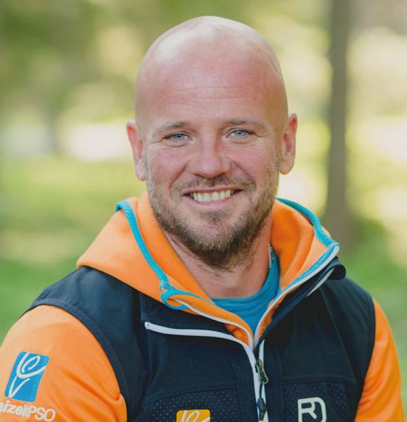 Skilehrer und Outdoorbetreuer Tom Well