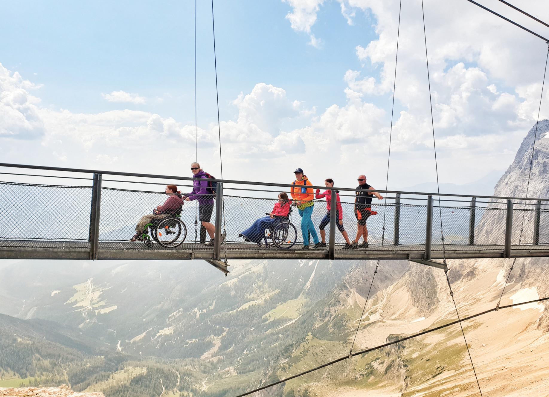 Feriencamp für Jugendliche mit körperlicher Behinderung