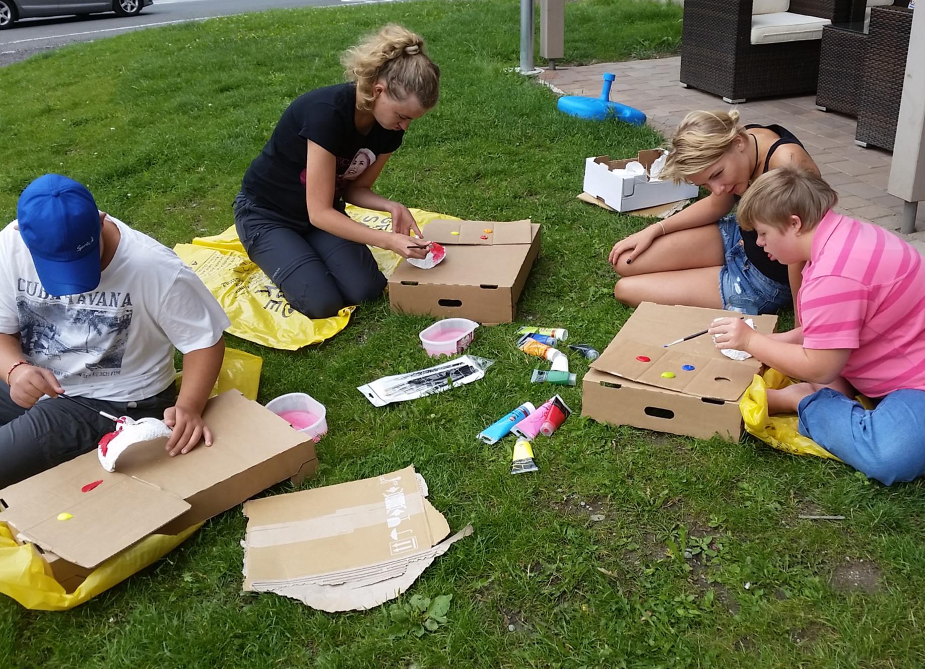 Feriencamp für Menschen mit Lernbehinderung