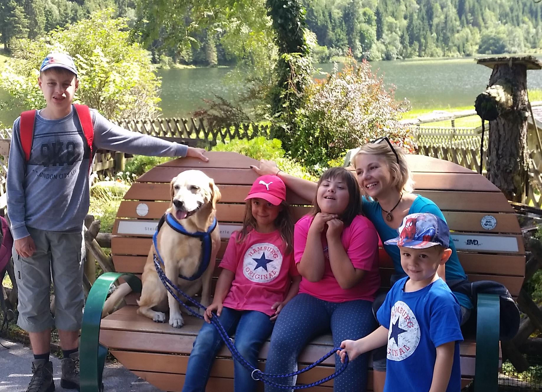 Rollstuhlgerechte Wanderung beim Familien-Abenteuer-Urlaub
