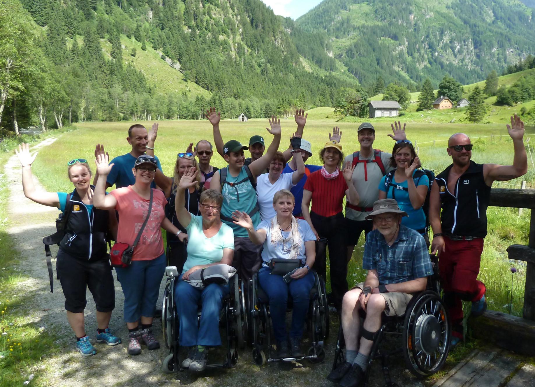 barrierefreie Urlaube für Individualisten & Gruppen
