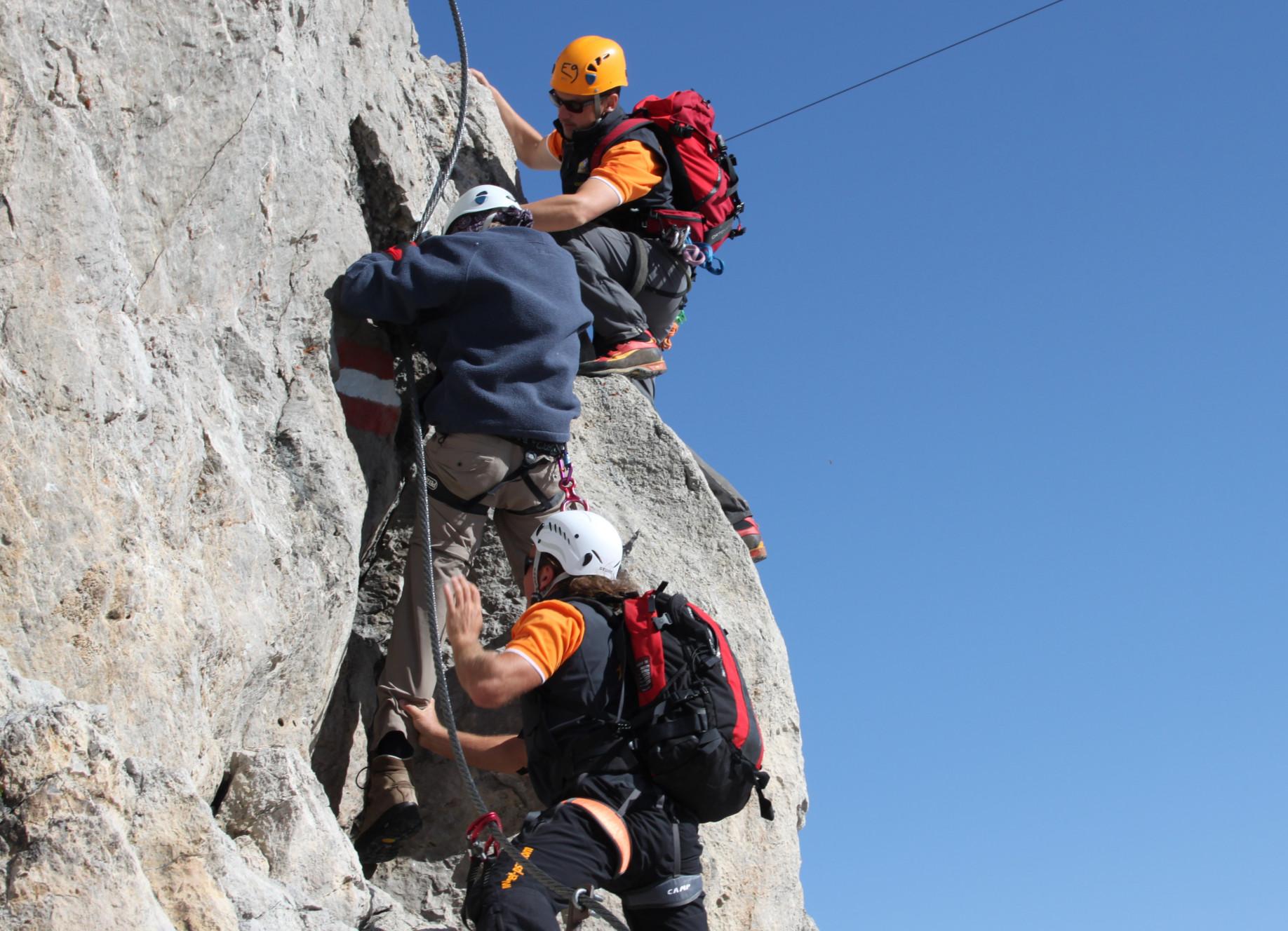 Klettern mit Behinderung