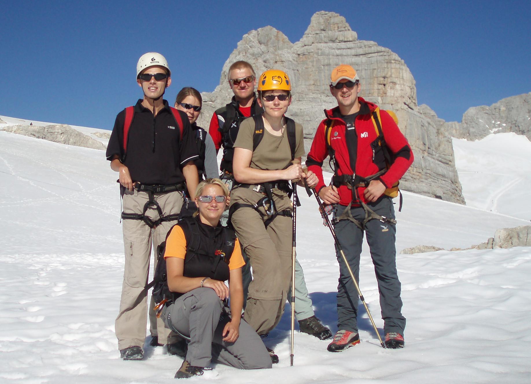Klettern am Dachstein mit Beeinträchtigung