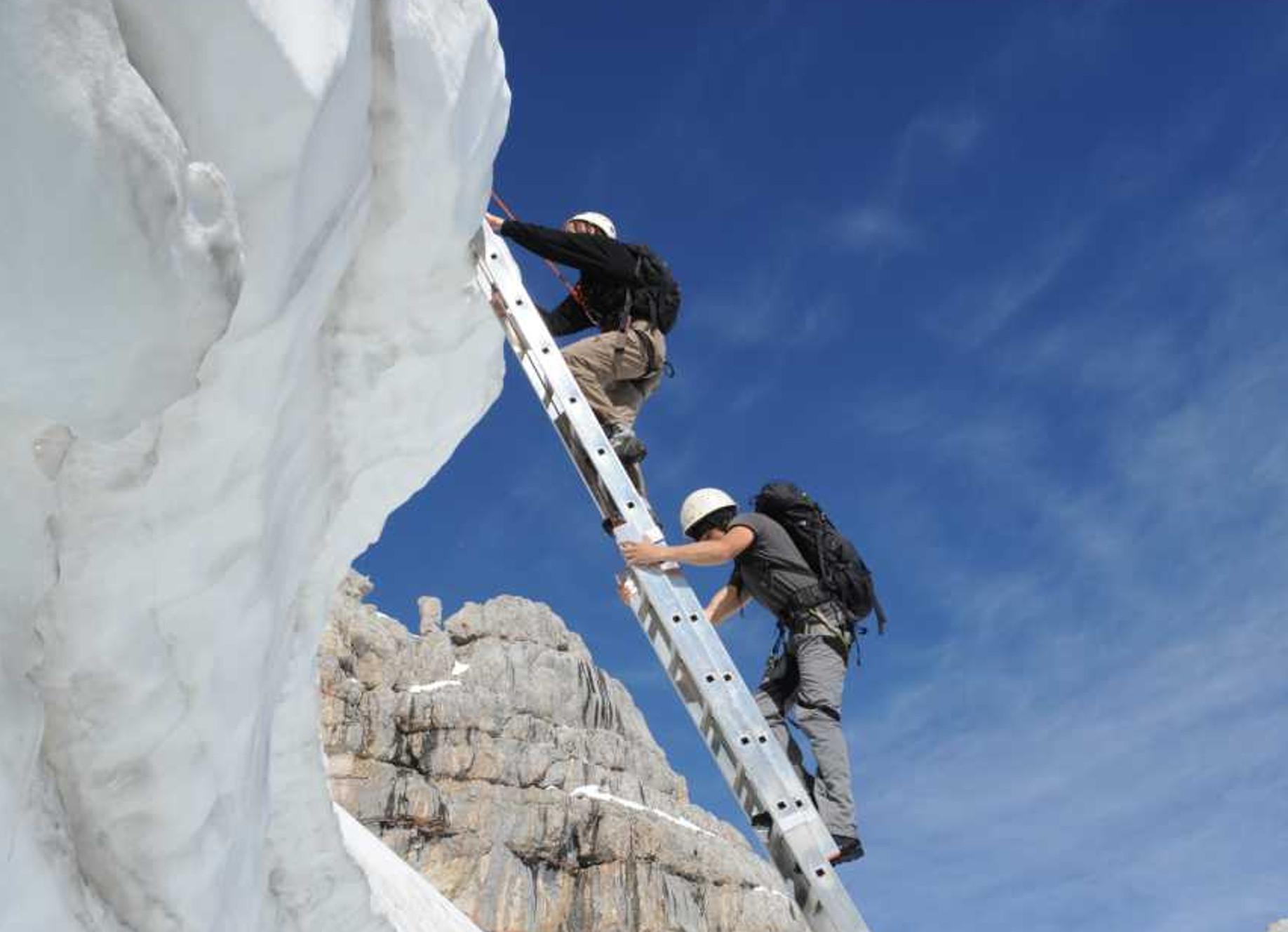 Klettersteig für Menschen mit Handicap