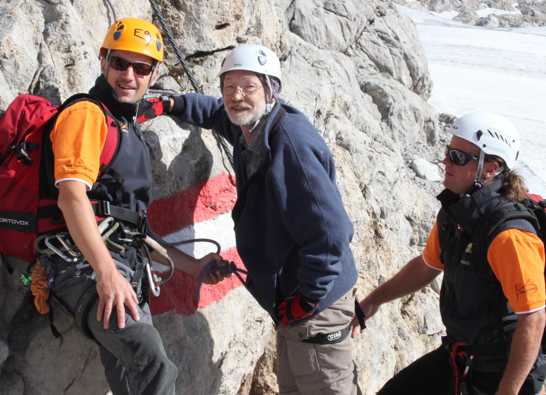 Klettersteig mit Beeinträchtigung