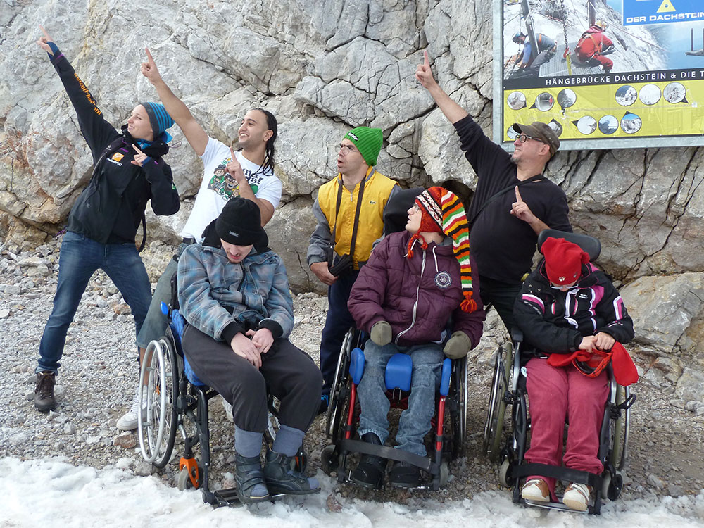 Barrierefreier Individualurlaub am Dachstein