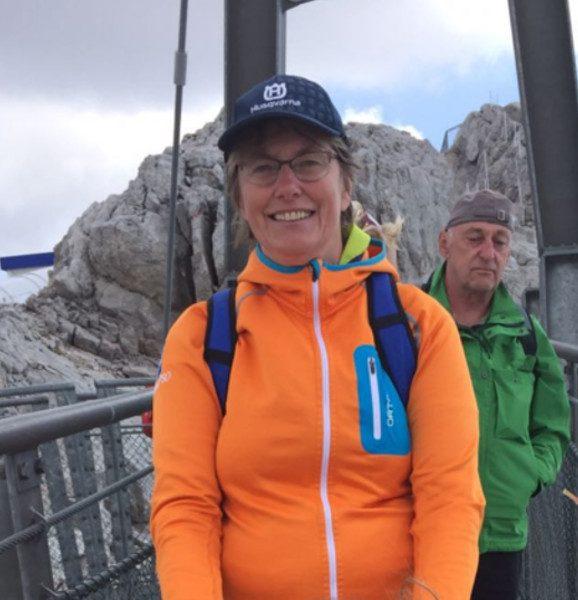 Outdoorbetreuerin Sigrid Mösenbacher