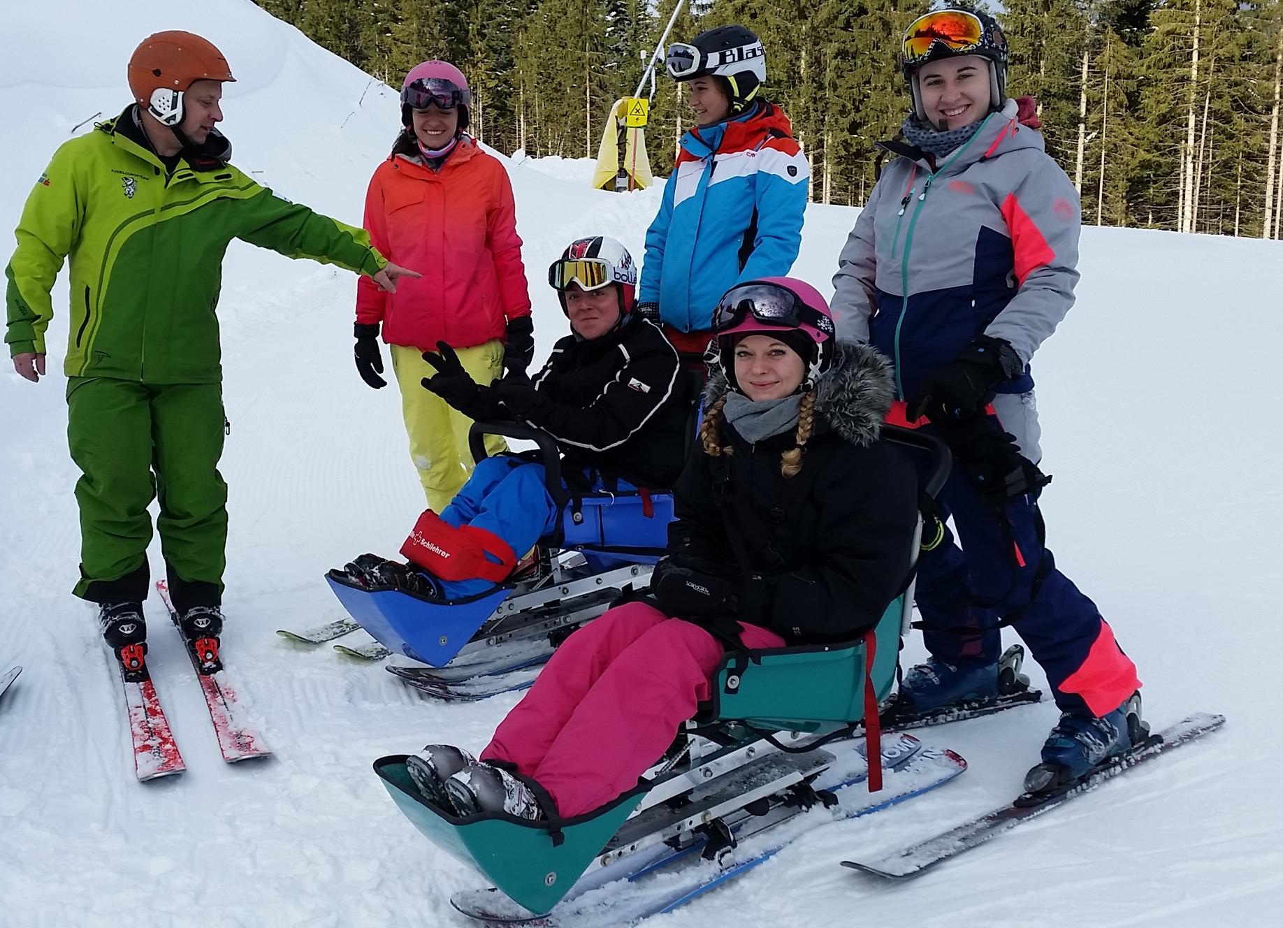 Ausbildung zum Skilehrer für Menschen mit Behinderung