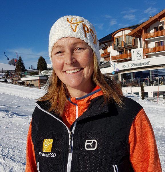 Skilehrerin Sabine Wächter