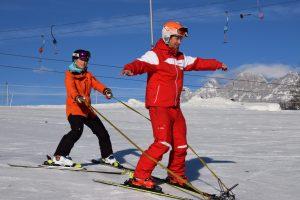 Skifahren mit geistiger Behinderung