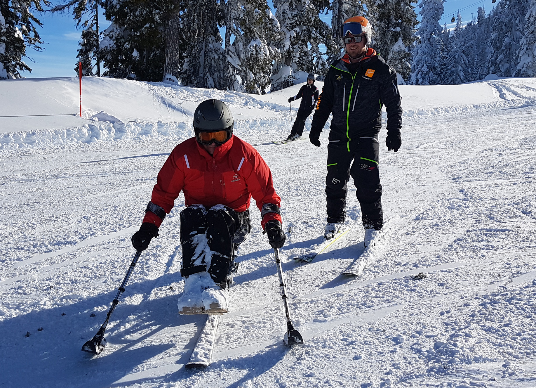 Training Monoski