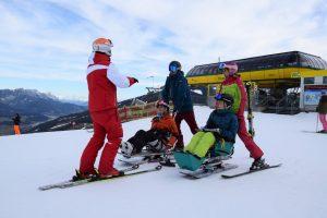 Skifahren für Rollstuhlfahrer