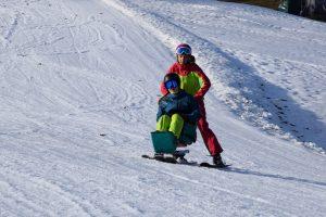 Ausbildung für Sitz-Ski