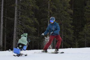 Skifahren im Biski
