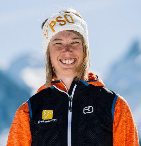 Skilehrerin Verena Mösenbacher